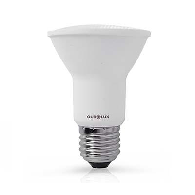 Lâmpada Led Par20 6w Bivolt 6500k Certificada - Ourolux