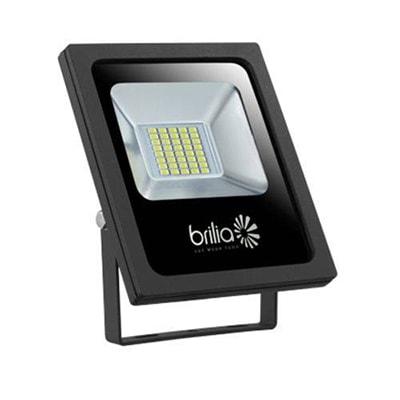 Refletor Led 30w Bivolt Luz Branca Ip65 - Brilia