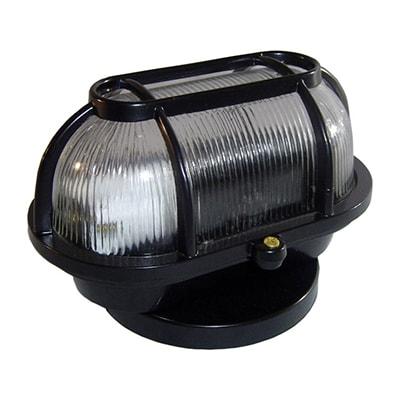 Luminária Tartaruga de Alumínio 60w Metal Preta - Fm Lustres