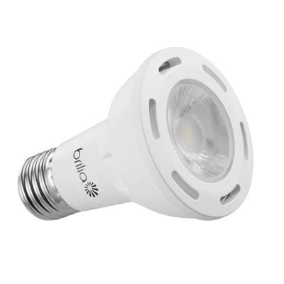 Lâmpada LED PAR20 6,5W 127V Luz Amarela - Brilia