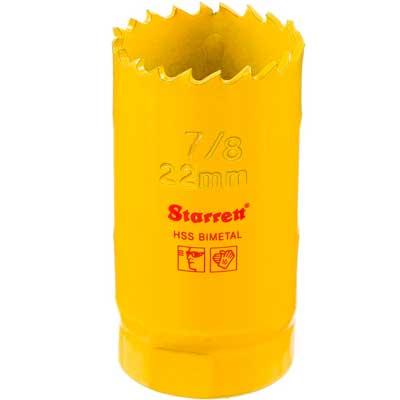 Serra Copo 22mm 7/8-1/2 - Sh0078/dh0078 - Starrett