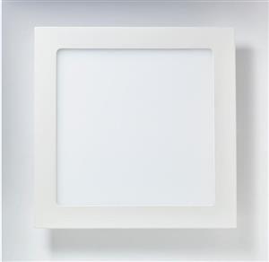 Painel de Led Branco 18w Quadrado Para Iluminação 6000k (luz Branca) Bivolt  B. Bauer  Ltfl186000kquadfino