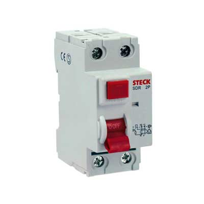 Interruptor Diferencial Dr 100a 2 Pólos 30ma 230v Sdr2100003 Steck