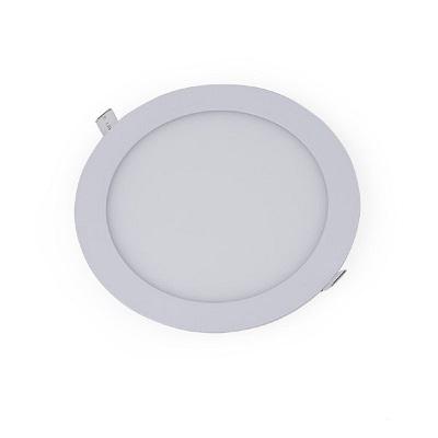 Plafon Led Embutir 18w 22,5cm 6000k Luz Branca Fria Redondo 1800lm 140130007 Galaxy