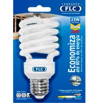 Lâmpada Eletrônica Espiral 23w X 220v Branca Fria (luz Branca) E27 01070215 Flc