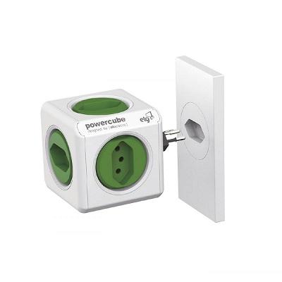 Power Cube Adaptador de 5 Tomadas Sem Fio, Elg