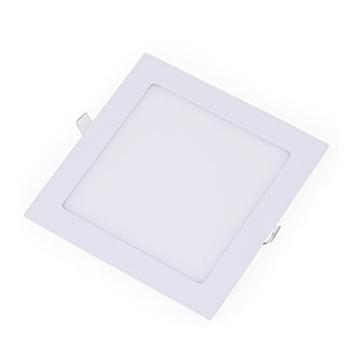 Painel Led Quadrado Embutir 9w 14,6x14,6cm 3000k Luz Branca Amarelada 600 Lúmens 1903s Galaxy