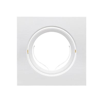 Spot de Embutir Quadrado Móvel Ar111 P/1 Lâmpada - Brilia