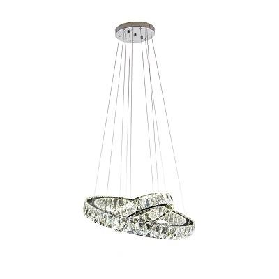 Luminária Pendente Led Cristal Alliance 54w 4000k - Hevvy