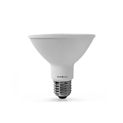 Lâmpada Led Par30 9w Biv 3000k Certificada - Ourolux