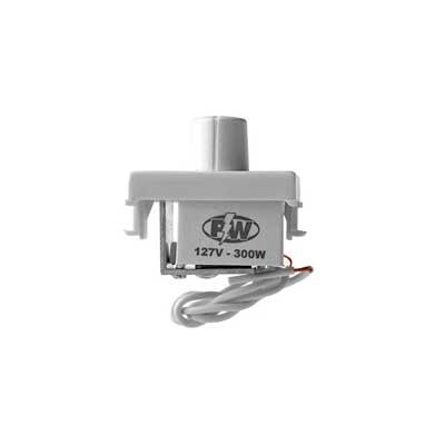Dimer Rotativo 300w 127v Branco - 805 - Pw Eletrônica