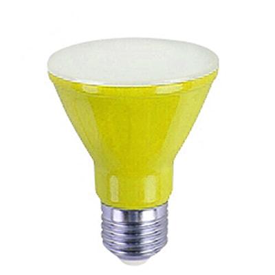 Lâmpada Led Par20 6w Bivolt Amarela - Ourolux