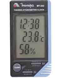 Relógio Termo-higrômetro - Mt-242 - Minipa