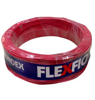 Cabo Fio Flexível 0,75mm 750v Rolo 100 Metros Vermelho - 09002 Vm - Condex