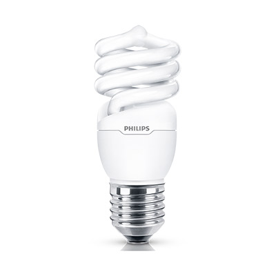 Lamp Espiral 15w 220v E27 Amarela
