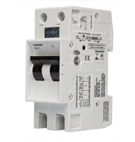 Disjuntor Bipolar 50a Curva C - 5sx12507 - Siemens
