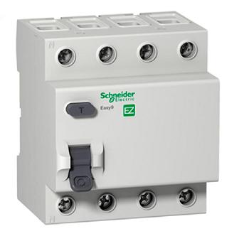 Interruptor Diferencial Residual Dr 40a 4 Pólos 30ma Easy9 - Ez9r33440 - Schneider