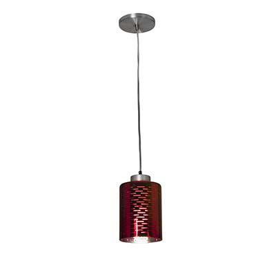 Pendente Dubai Vermelho P/1 Lamp 23w