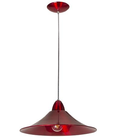 Luminária Pendente Bahrein Cereja Bivolt Para 1 Lâmpada E27 - Kin Light