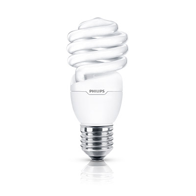 Lamp Espiral 23w 127v E27 Amarela