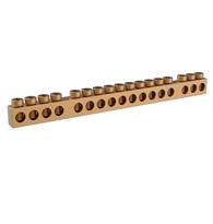 Barramento Neutro Terra Para 16 Disjuntores Slim - 37430510 - Tigre