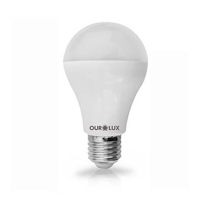 Lâmpada Led Bulbo 12w Bivolt Luz Branca Amarelada – Ourolux