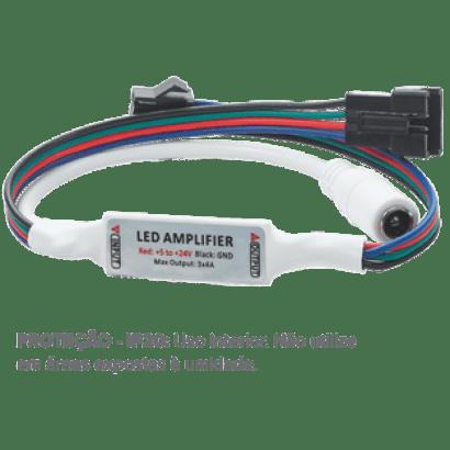 Ampliador Nano P/fitas Led Rgb 430606 Brilia