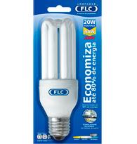 Lâmpada Eletrônica Tripla 20w X 220v Branca Fria (luz Branca) E27 01020347  Flc