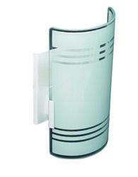 Arandela Paulistinha 180x100mm Para 1 Lampada E-27 - 467 Silkada - Emalustres