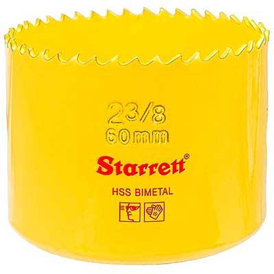 Serra Copo Starrett 60mm 2.3/8-2 - Sh0238/dh0238 - Starrett