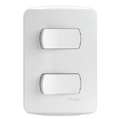 Conjunto 2 Interruptores Simples 10a 250v - S3b62110 - Schneider - Miluz
