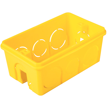 Caixa de Embutir 4x2 Pvc Amarela 57500/041 Tramontina