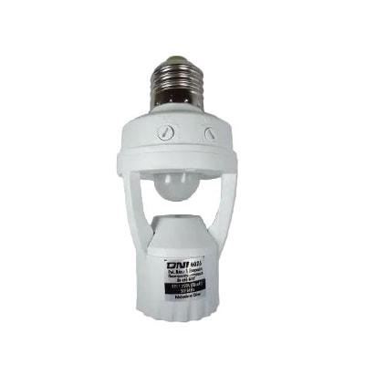Sensor de Presença e Fotocélula P/ Soquete E27 - Dni
