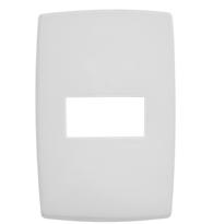 Placa 4x2 P/1 Módulo Horizontal Ref. 618505 - Pial Legrand Plus