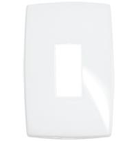 Placa Gloss 4x2 P/1 Módulo Vertical Ref. 618521 - Pial Legrand Plus