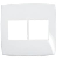 Placa Gloss 4x4 P/2 + 2 Módulos Ref. 618532 - Pial Legrand Plus