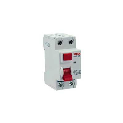 Interruptor Diferencial Dr 80a 2 Pólos 30ma 230v Sdr280003 Steck