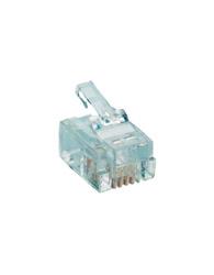 Conector Rj 11 Macho 4x4 - Rj11 4x4 - Importadora