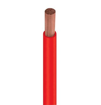 Fio Cabo Flexível 2,5mm 750v Vermelho Rolo Com 100 Metros 1150506401 Cobrecom