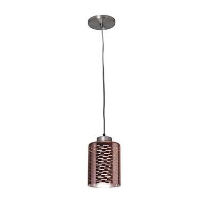 Pendente Dubai Em Alumínio Bronze Para 1 Lâmpada E27 – Kin Ligth