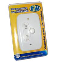 Controle Para Ventilador Rotativo 127v Com Pl Para 1 L?mpada - 901 - Pw Eletr?nica
