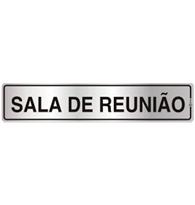 Placa de Aviso Sala da Reunião 5x25cm - C05002 - Indika