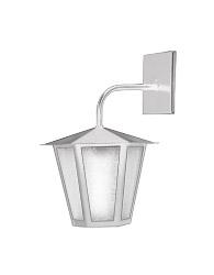 Lanterna L-3-b Branca Sextavada 36cm X 26cm - L-3-b Br - Lustres Ideal