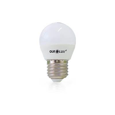 Lâmpada Led Bolinha S30 4w Bivolt 2700k Certificada - Ourolux
