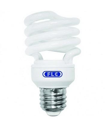 Lâmpada Eletrônica Espiral 18w X 220v Branca Quente (luz Amarela) E27 01072153 Flc