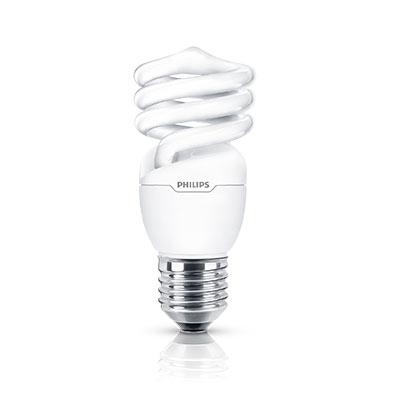 Lamp Espiral 20w 220v E27 Amarela