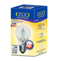 Lâmpada A60 Halógena  42w X 220v Branca Quente (luz Amarela) E27 - 04040619 - Flc