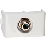 Módulo Tomada Para Antena de Tv Coaxial 9mm Branco - Prm 47601 - Schneider - Prime Lunare
