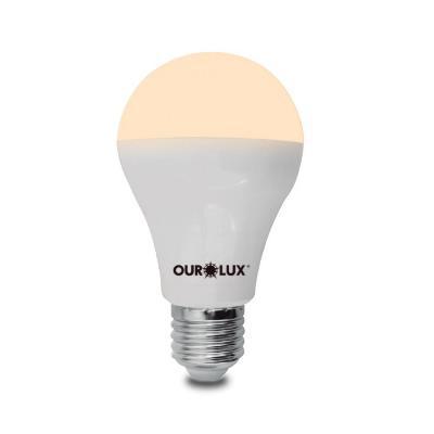 Lâmpada Led Bulbo 9w Bivolt Luz Branca - Ourolux