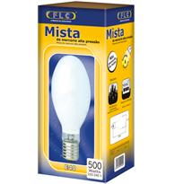 Lâmpada Mista 500w X 220v Branca Quente (luz Amarela) - E40 - 03040046 - Flc